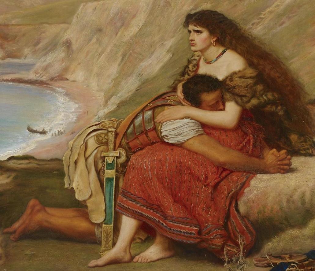 Джон Эверетт Милле. Отъезд римского легионера из Британии. Фрагмент