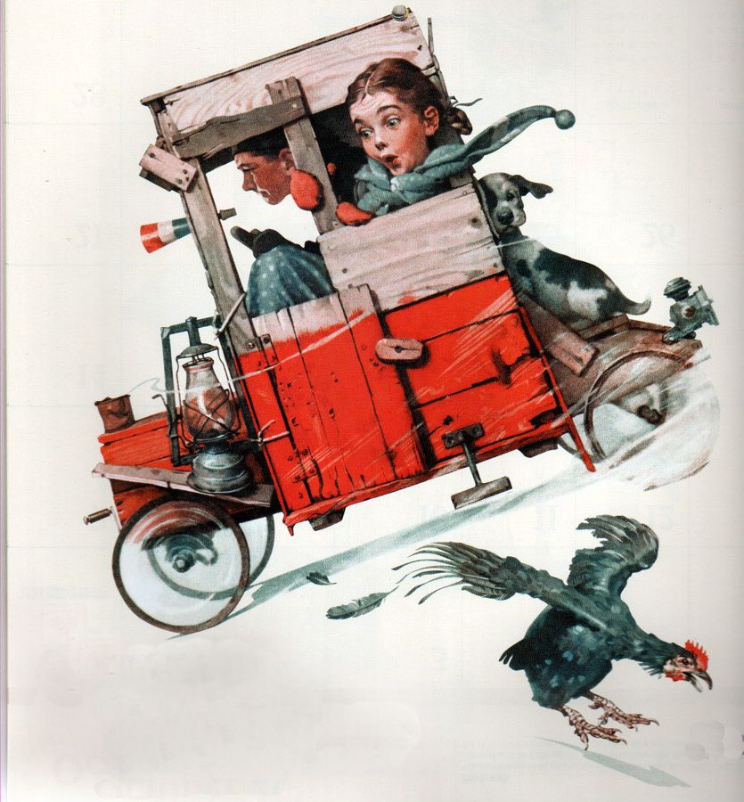 Norman Rockwell. Racer