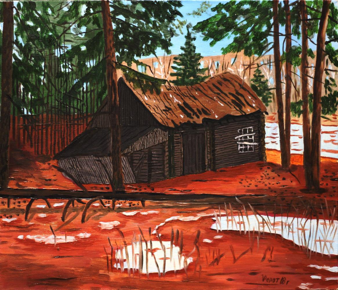 Vladimir Adamovich Ropot. Hunting lodge