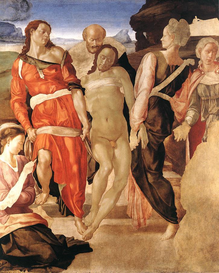 Микеланджело Буонарроти. Положение во гроб