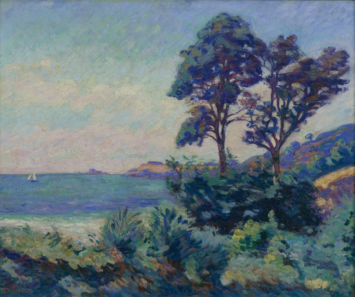 Armand Guillaumin. Seascape at Saint-Palais