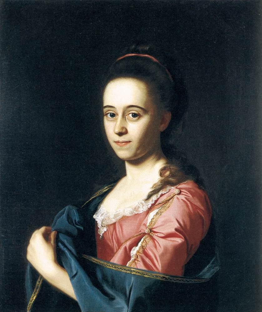 John Singleton Copley. Mrs. Joshua Henshaw II (Catherine hill)