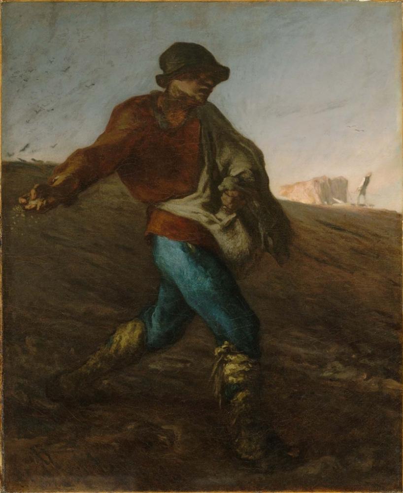 Jean-François Millet. Sower