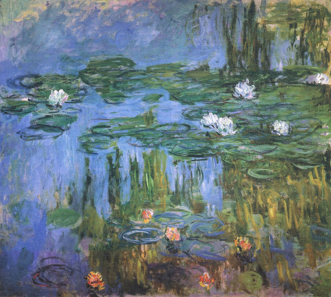 water lily pond claude monet analysis
