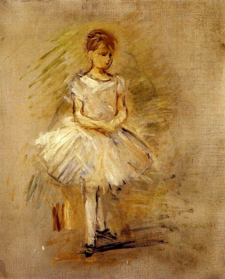 Берта Моризо. Маленькая балерина