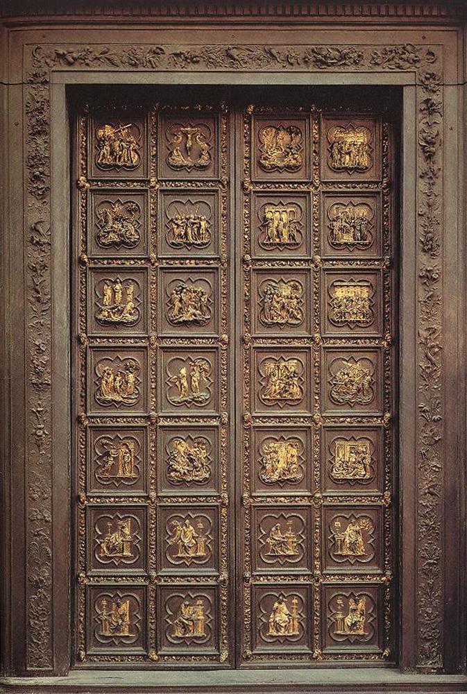 Лоренцо Гиберти. Двери