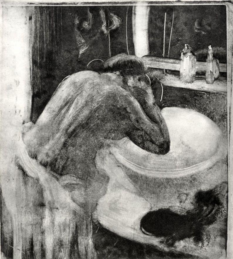 Edgar Degas. Taz