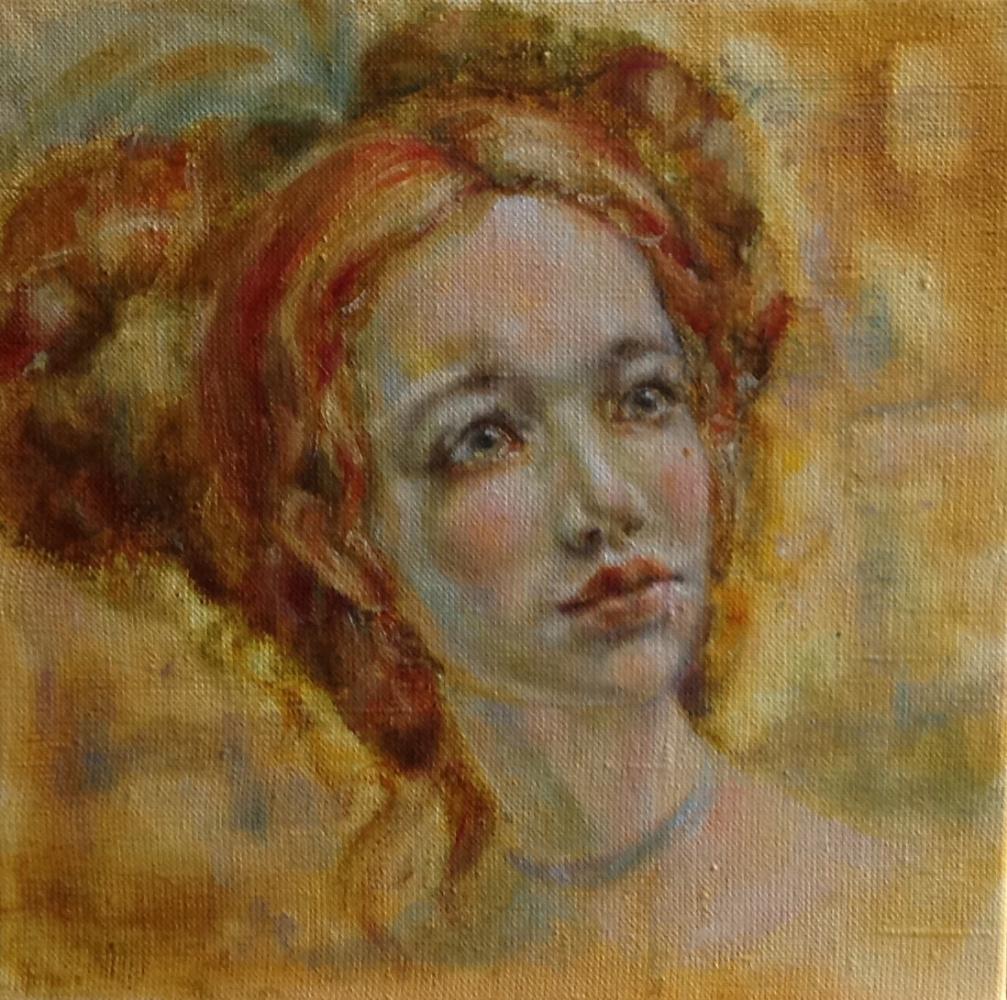 Irina Georgievna Gartenko. Oil on canvas 30/30