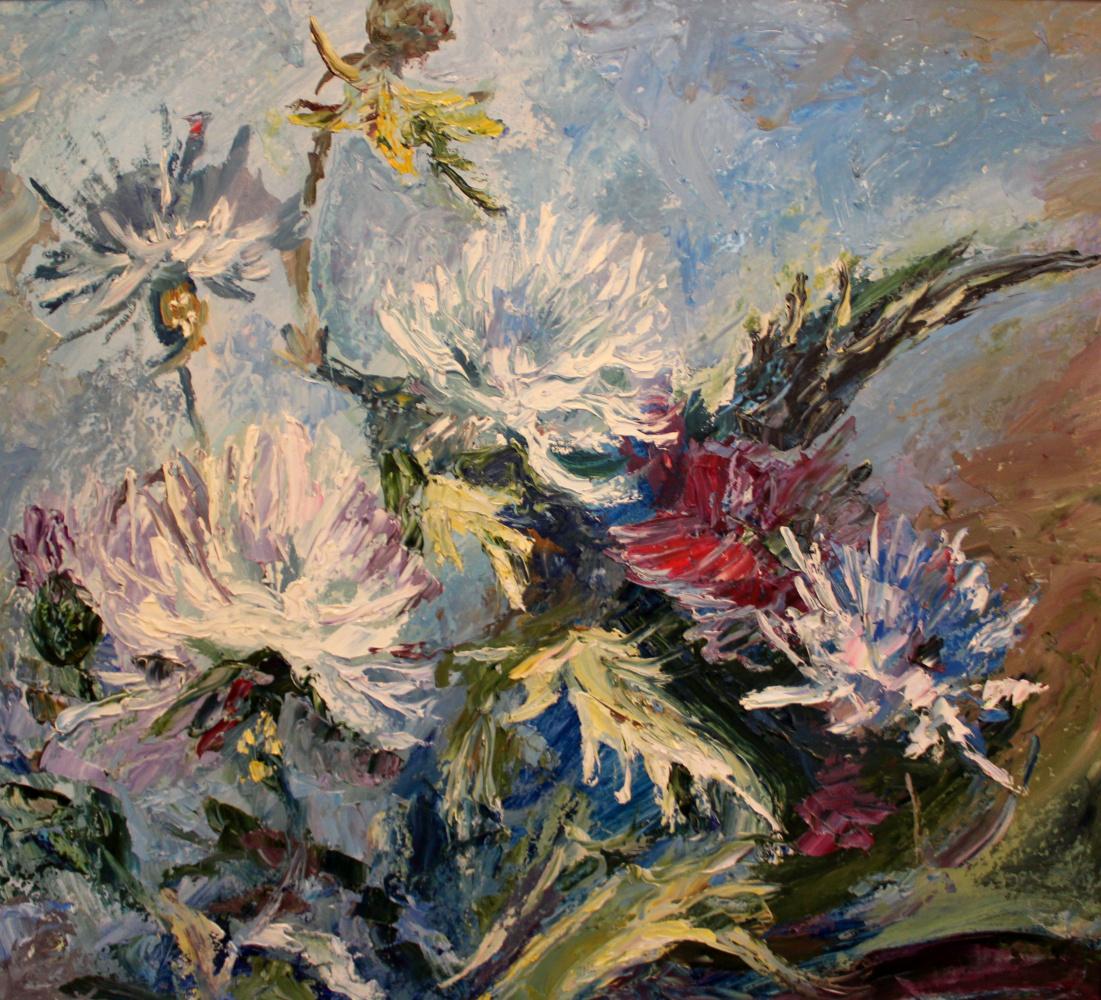 Love Sergeyevna Nikulina. Bouquet