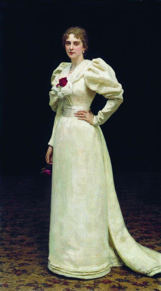 Ilya Efimovich Repin. Portrait Of L. P. Steinheil