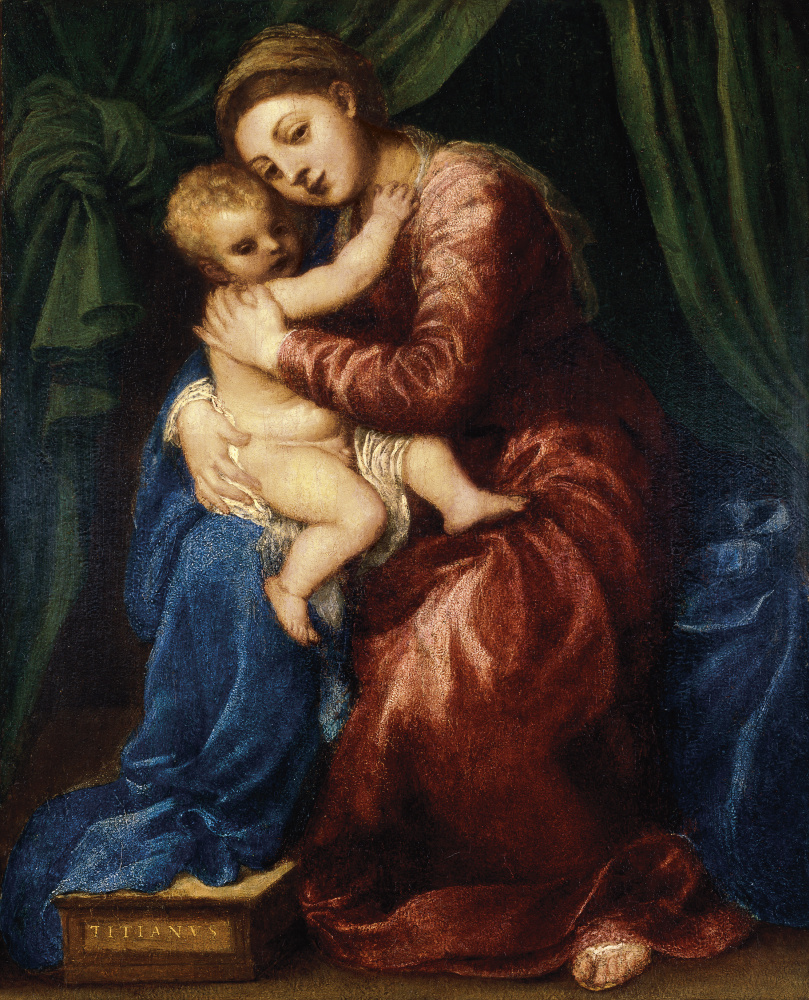 Titian Vecelli. Madonna and Child