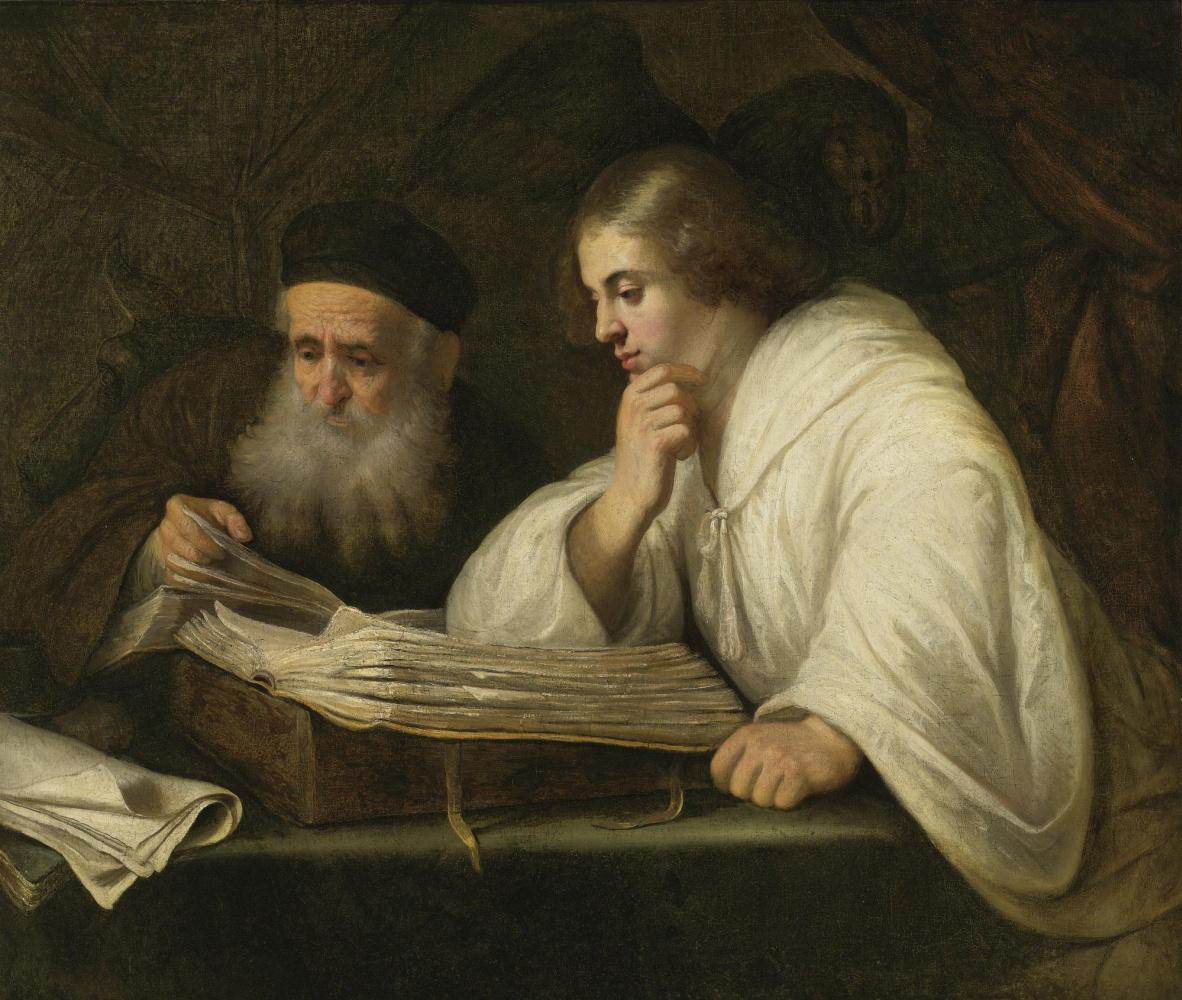 Ян Ливенс. Святой Лука и святой Иоанн