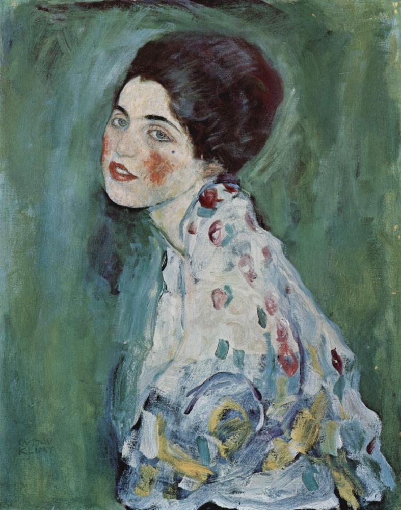 Густав Климт. Женский портрет