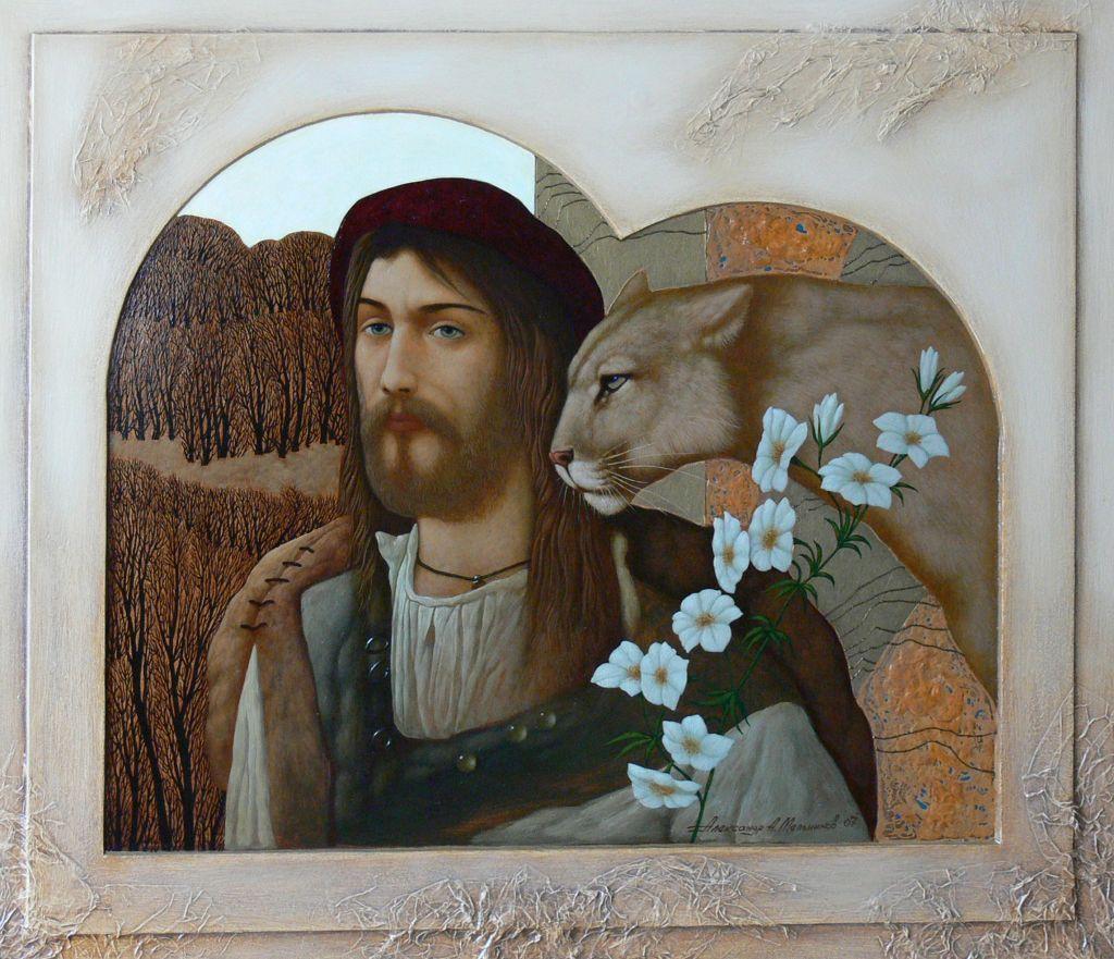 Александр Мельников. Цветы для кошки. 2007