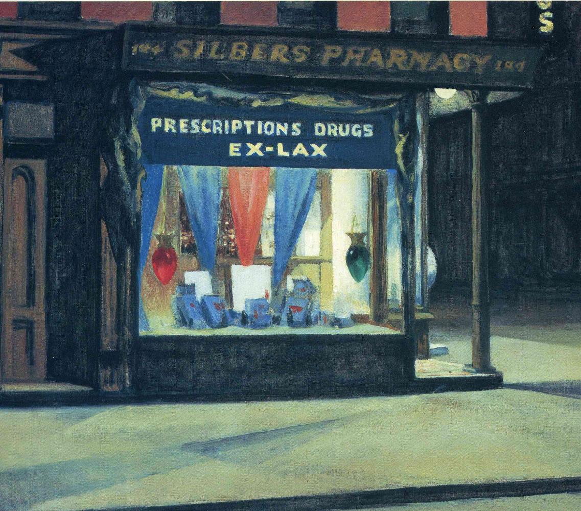 Edward Hopper. Pharmacy