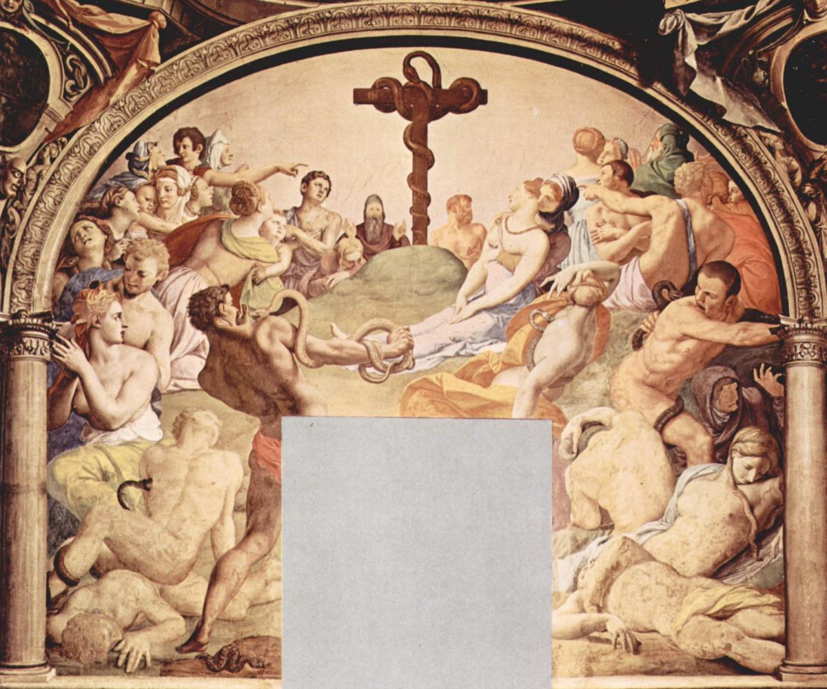 Agnolo Bronzino. Fresco of the Chapel of Eleonora of Toledo at the Palazzo Vecchio