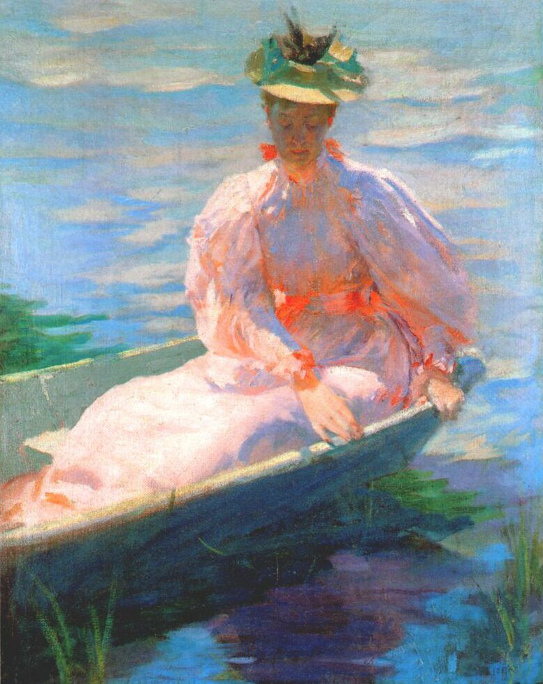 Lawton Silas Parker. The woman in the boat