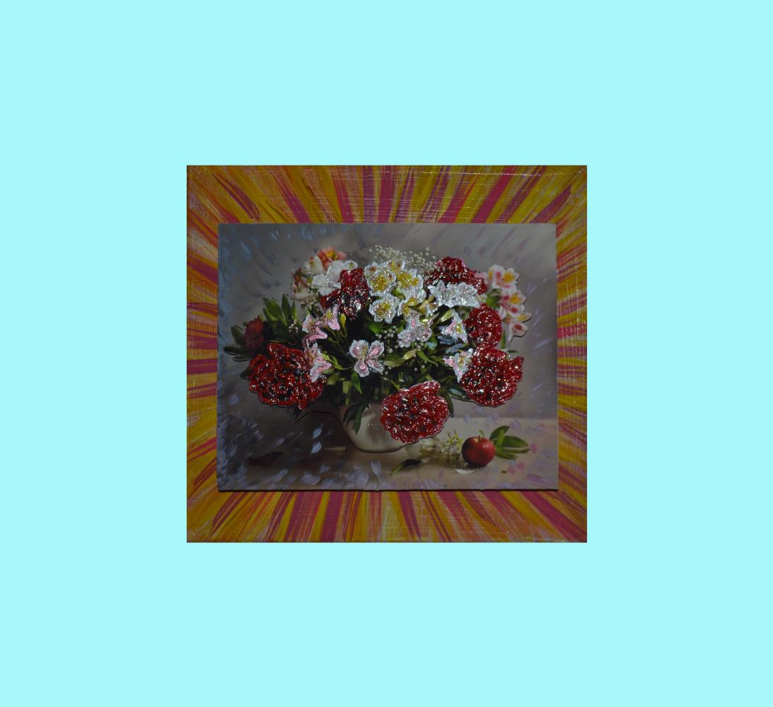 Tatiana Silivnec. Flowers in a vase
