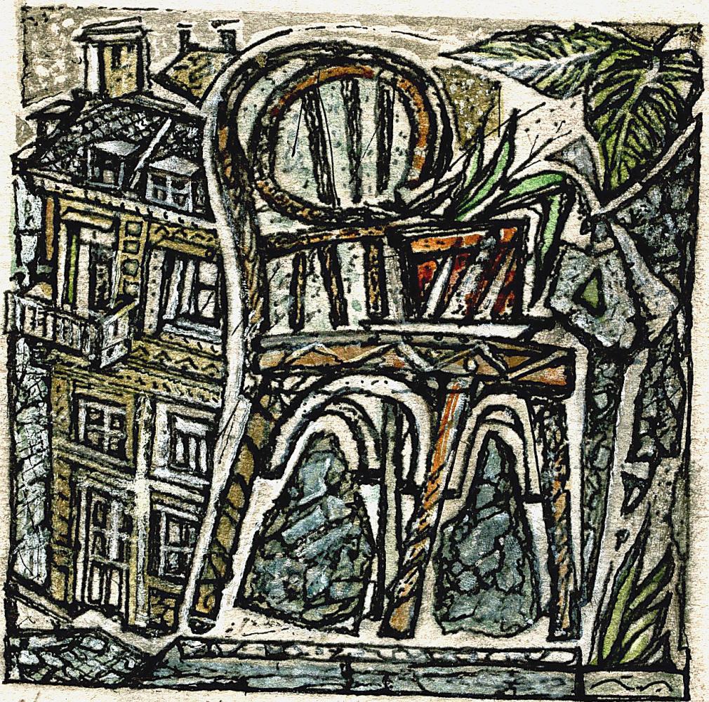 Sergei Yurievich Smilga. Chair portrait