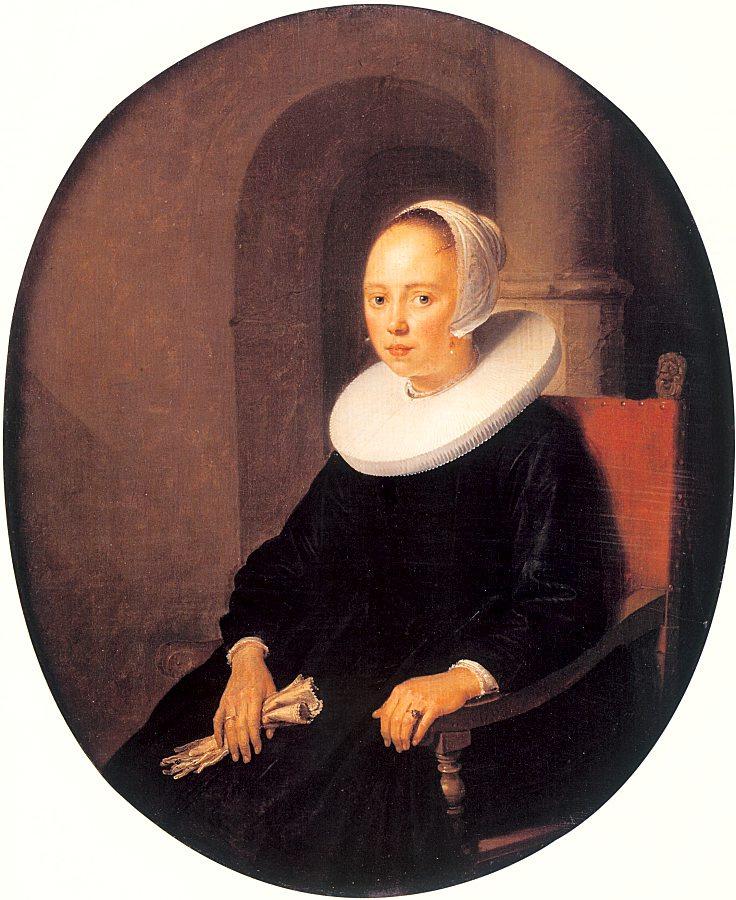 Геррит Доу. Портрет женщины