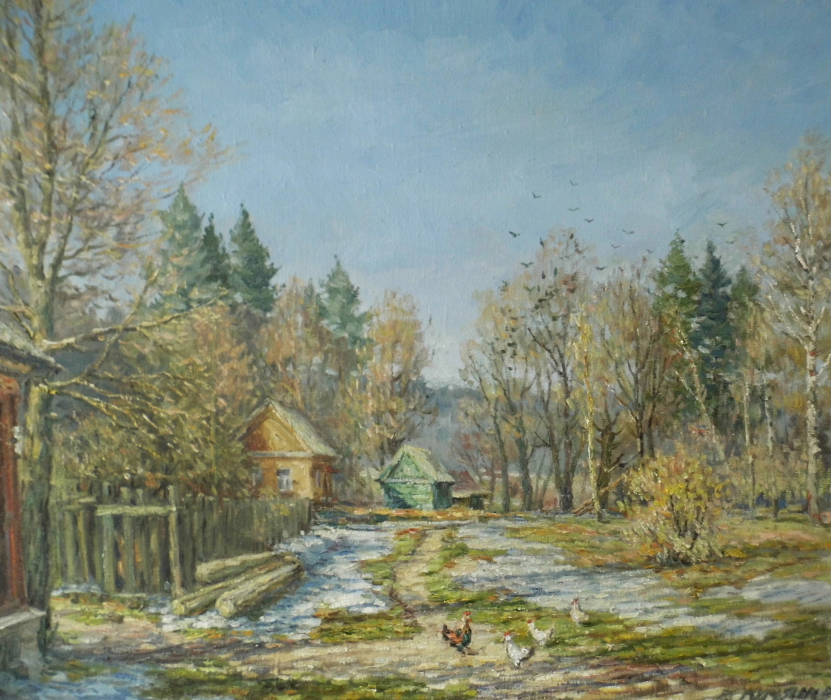Victor Vladimirovich Kuryanov. The Last Snow