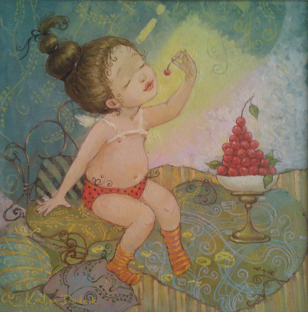 Catherine Dudnik. Everyone loves cherries
