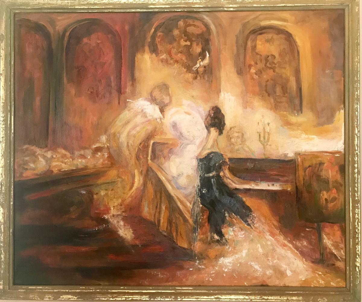 "Valeria. ""At the piano"""