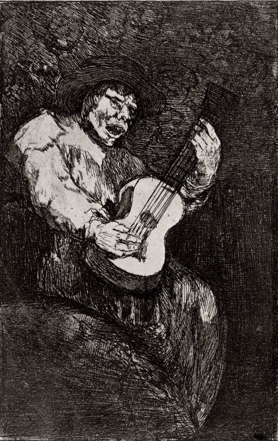 Франсиско Гойя. Слепой гитарист