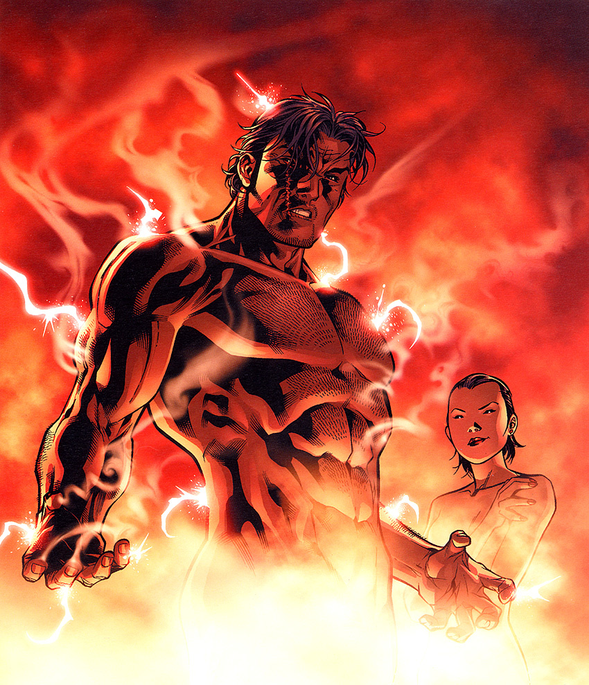 Cross-Gene. Bron gets power from Mai Shen