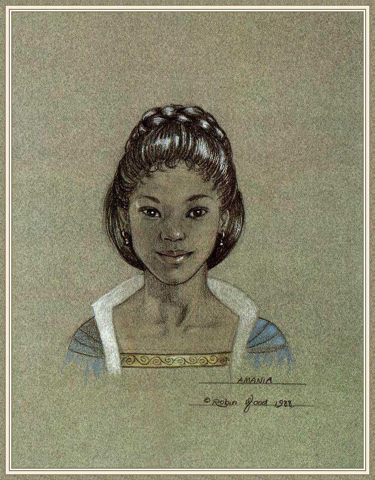 Робин Вуд. Молодая девушка