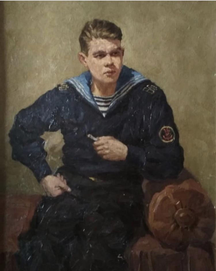 Tamara Vladimirovna. Portrait of the artist V.V. Nikonova