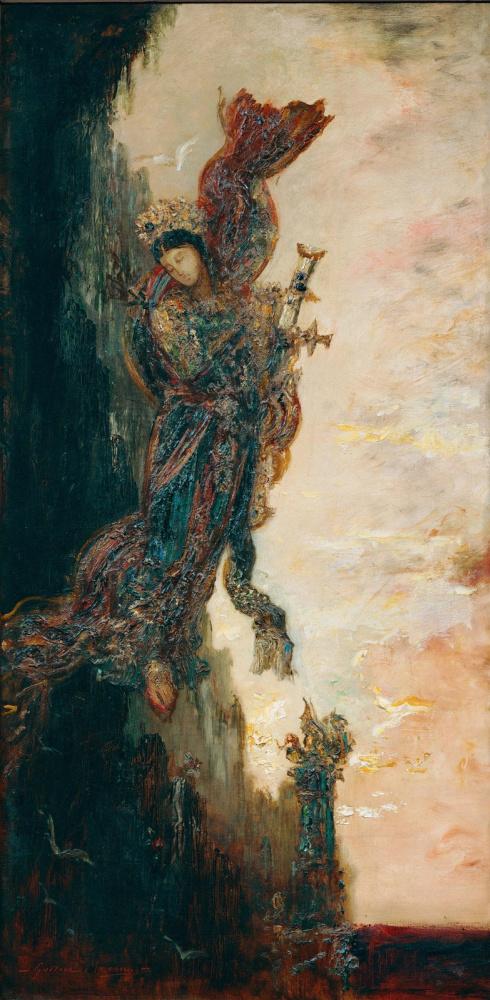 Gustave Moreau. Fall of Sappho
