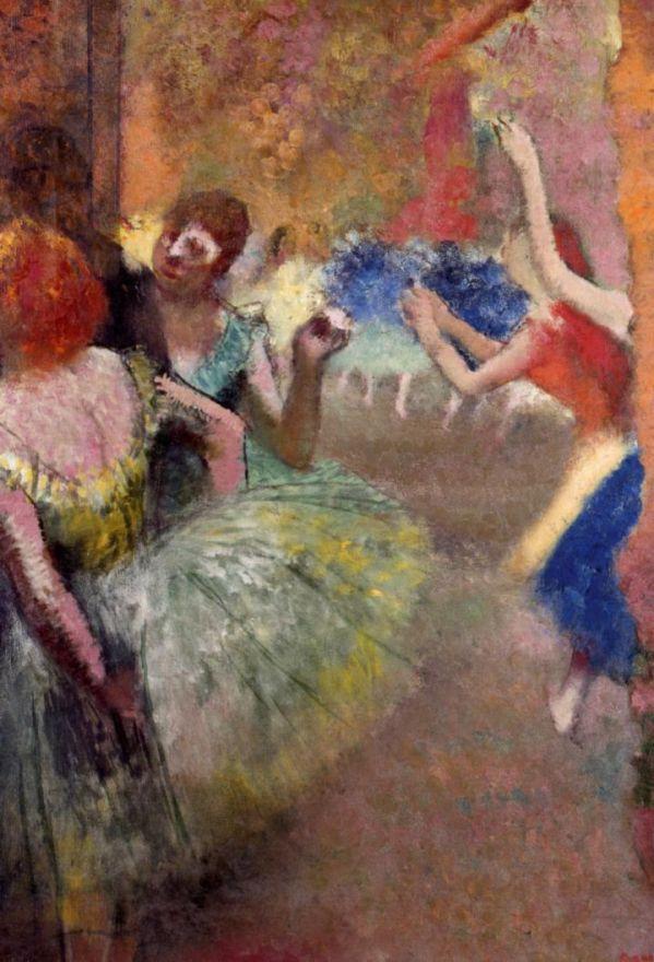Edgar Degas. Scene ballet