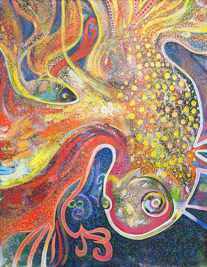Евгений Морозов. Gold fish