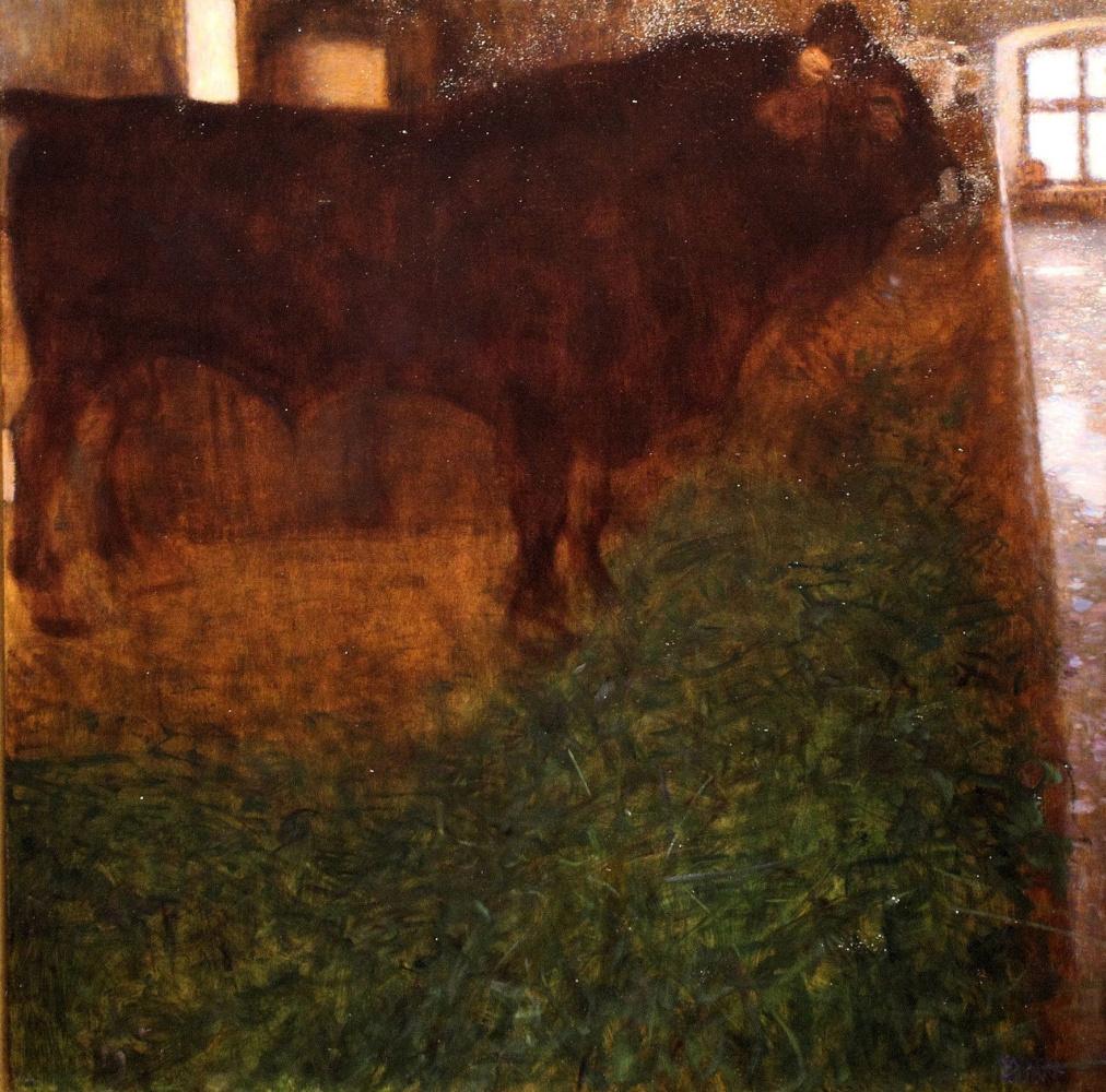 Gustav Klimt. Black bull