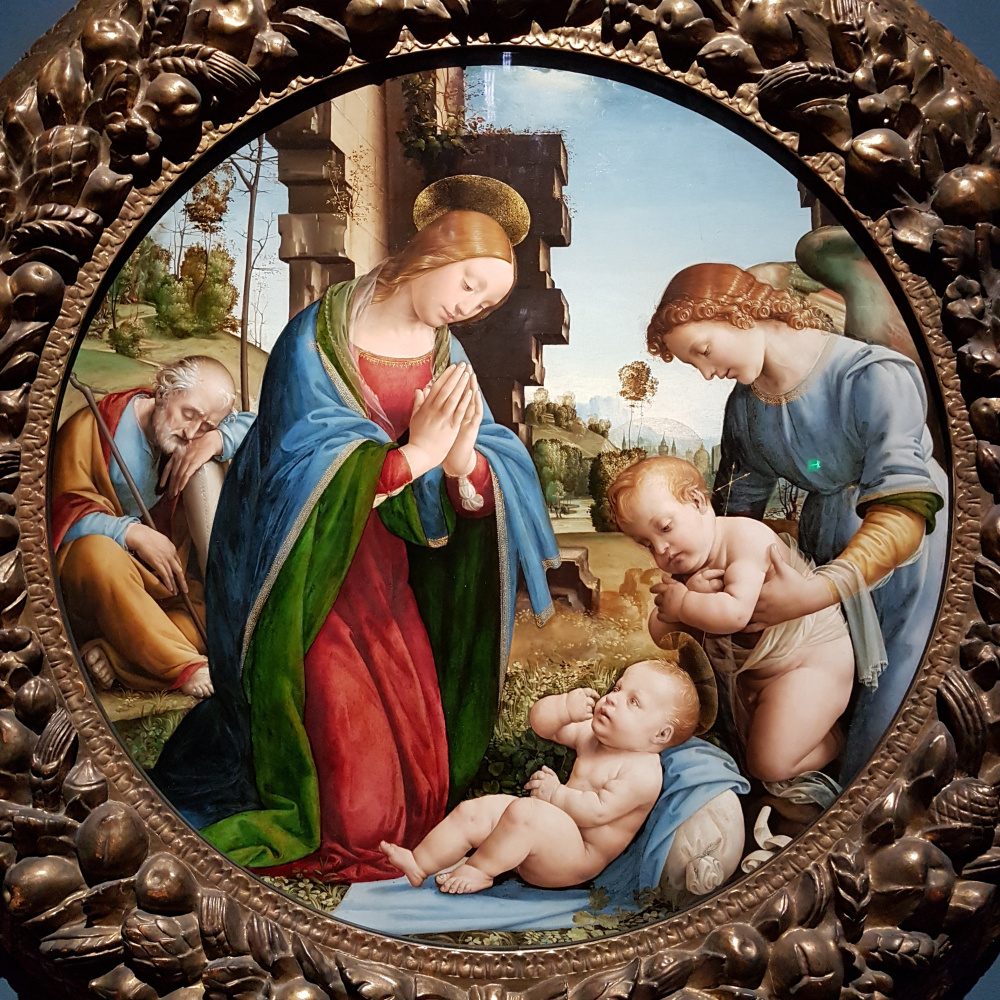 Фра Бартоломео. Adoration of the Infant Christ