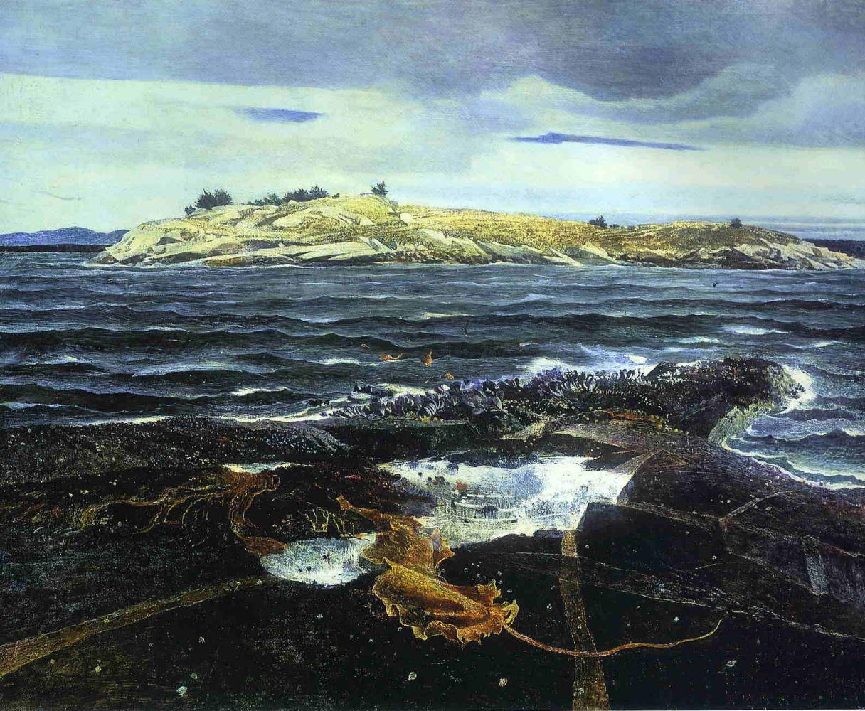 Andrew Wyeth. Island Little Caldwell