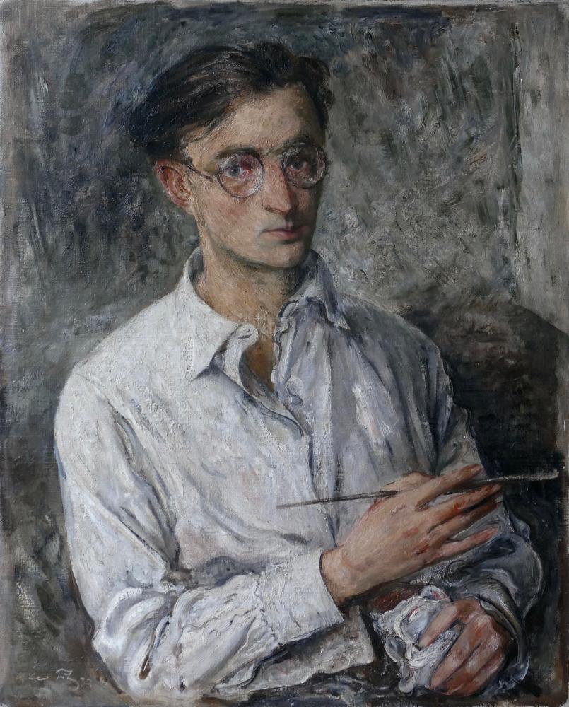 Лео Путц. Автопортрет