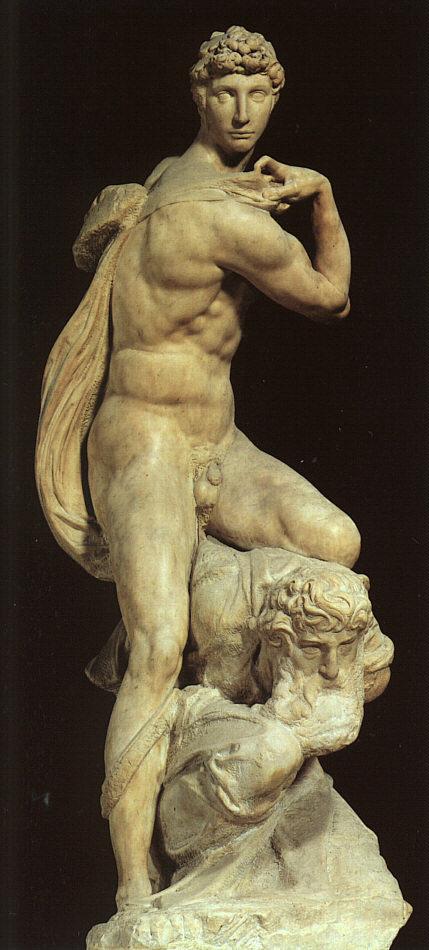 Микеланджело Буонарроти. Статуя