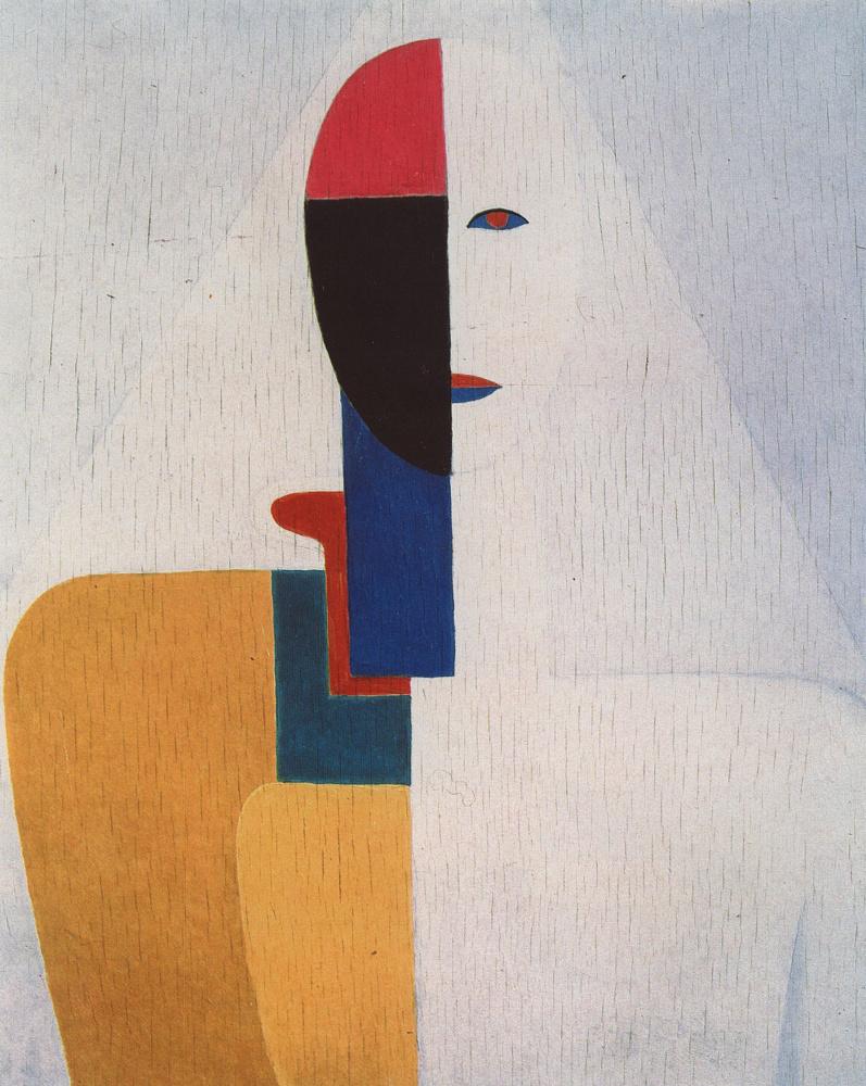 Kazimir Severinovich Malevich. Half female figure