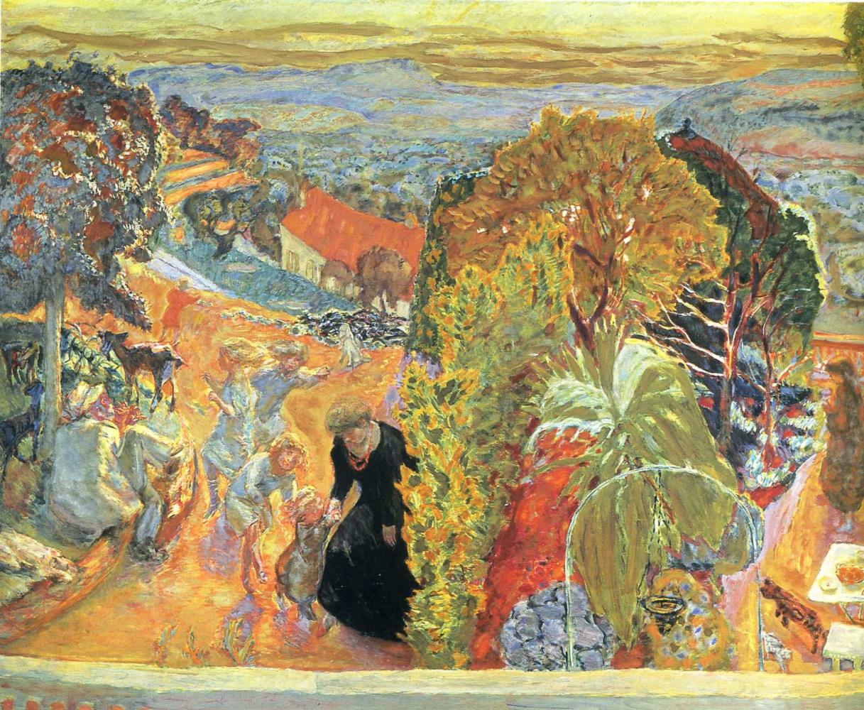 Пьер Боннар. Желтое дерево