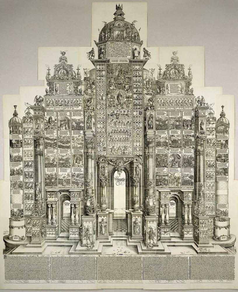 Альбрехт Дюрер. Триумфальная арка Максмилиана I