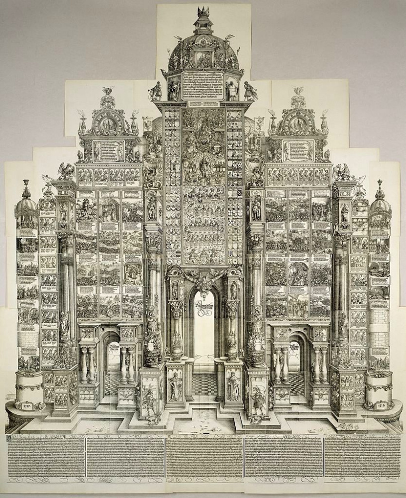 Albrecht Dürer. Arch Maxmilian I