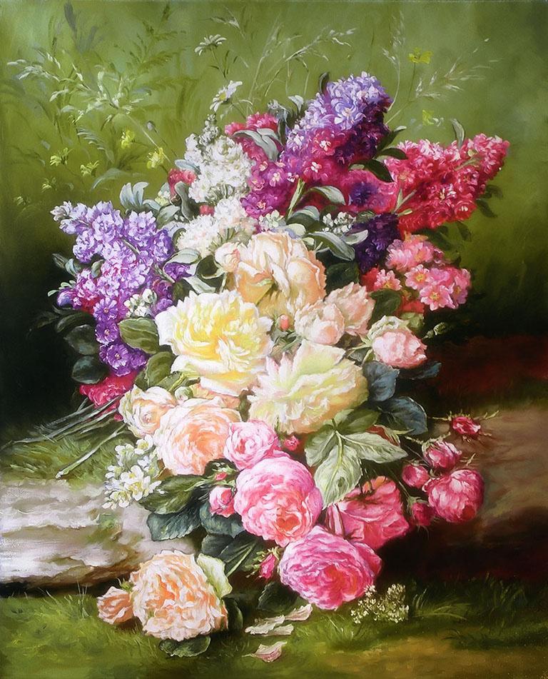 Владимир Штыков. Цветочный натюрморт