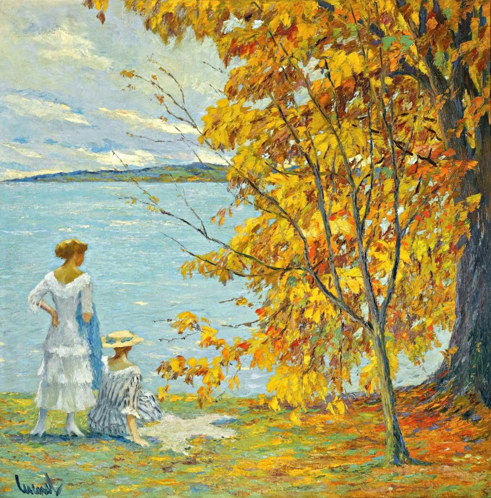 Edward Cucouel. Autumn Walk.
