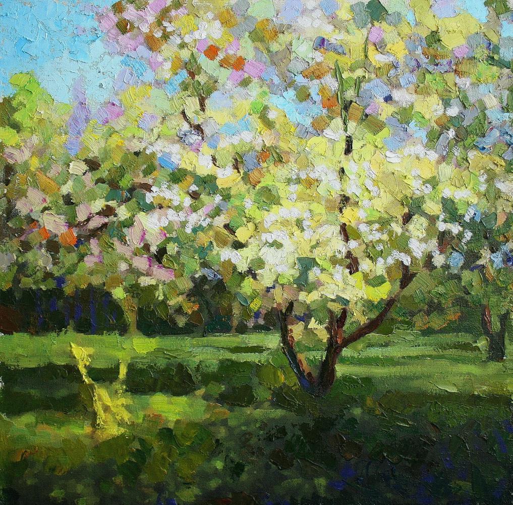 Mikhail Rudnik. Apple tree