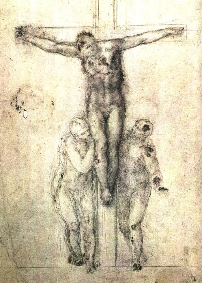 Микеланджело Буонарроти. Распятие