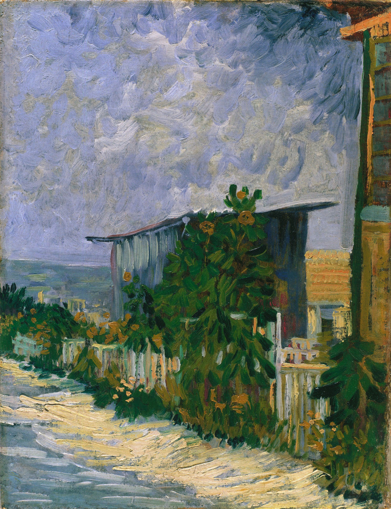 Винсент Ван Гог. Приют на Монмартре