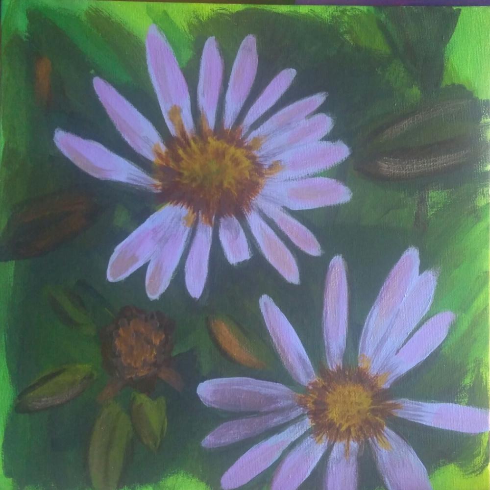 Полина Алексеевна Александрова. Lilac flower