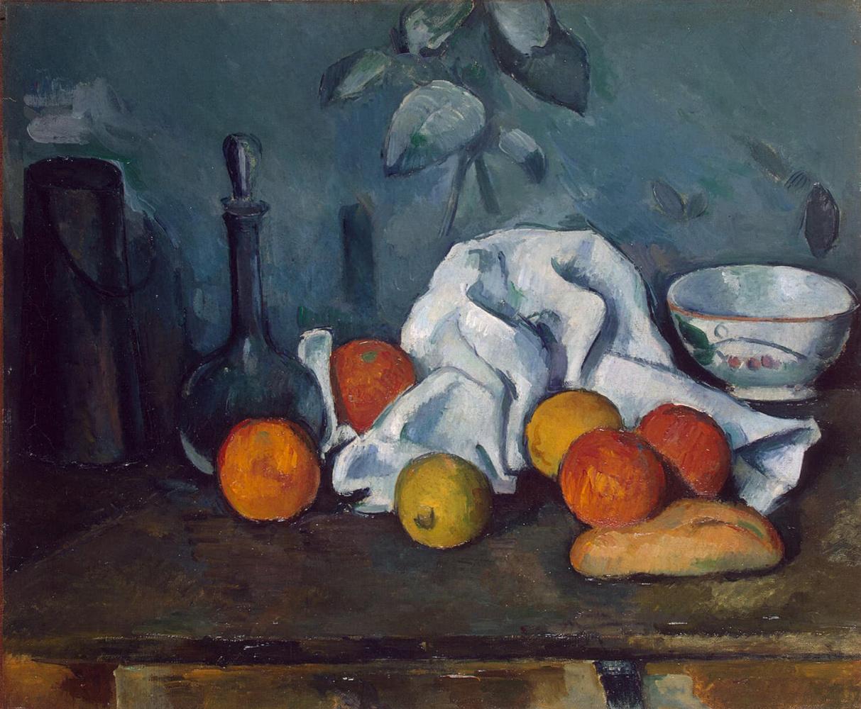 Поль Сезанн. Натюрморт с фруктами